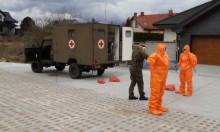 Pomorscy terytorialsi wspierają służby sanitarno-epidemiologiczne
