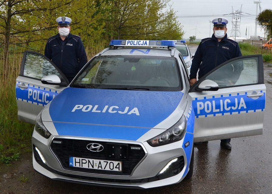 Policjanci ratowali 3-letniego chłopca