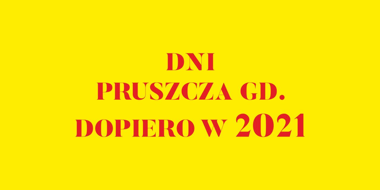 Nowy termin Dni Pruszcza Gdańskiego – 12-13.06.2021 r.