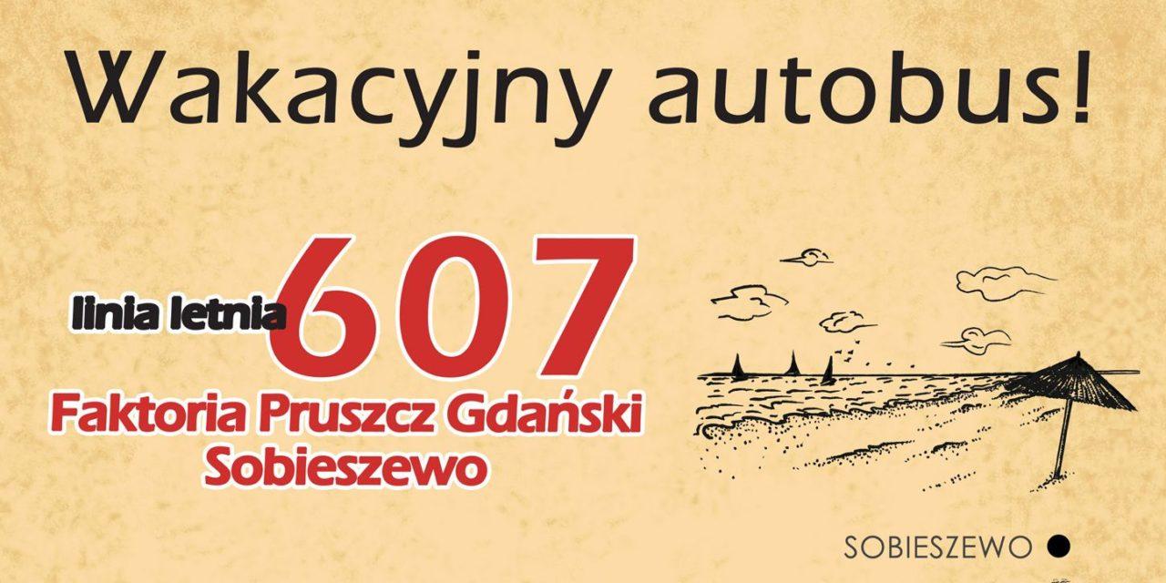 Autobus Pruszcz Gdański – Sobieszewo