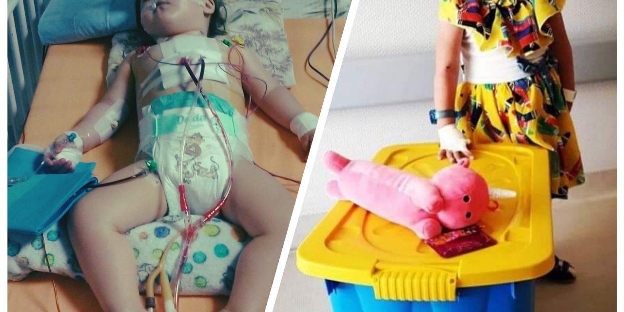 Pomoc dla Nadii na operację serduszka.