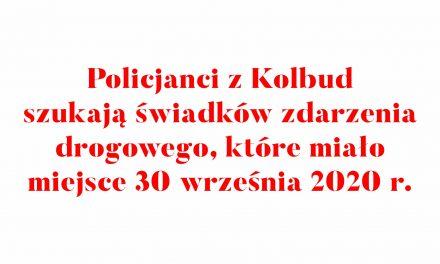 Policjanci z Kolbud szukają świadków zdarzenia drogowego, które miało miejsce 30 września 2020 r.