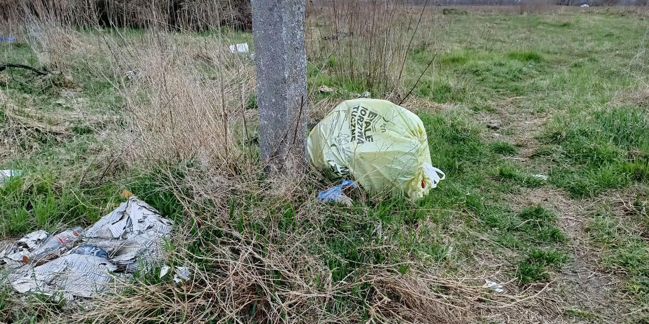 Problem śmieci w Pruszczu Gd. i okolicy.