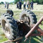 Śledczy wyjaśniają okoliczności śmiertelnego wypadku podczas prac polowych