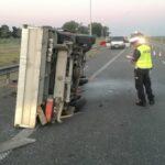 Policjanci wyjaśniają przyczyny wypadku śmiertelnego na drodze S7