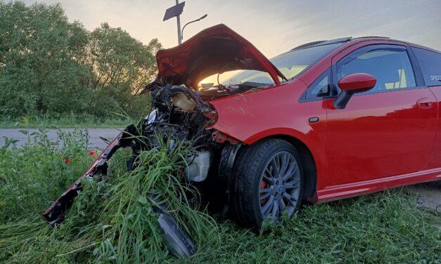 Poważny wypadek w Rokitnicy. Zarządca drogi nie reaguje na prośby mieszkańców
